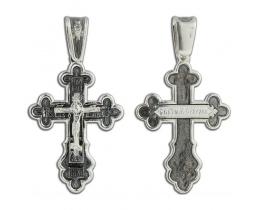 12-354 Крест (Ag 925)