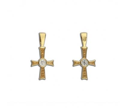 13-029 Крест (Ag 925)