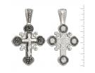 12-195 Крест (Ag 925)