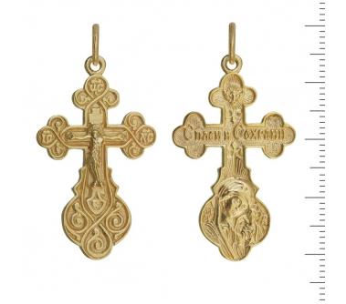 13-048 Крест (Ag 925)