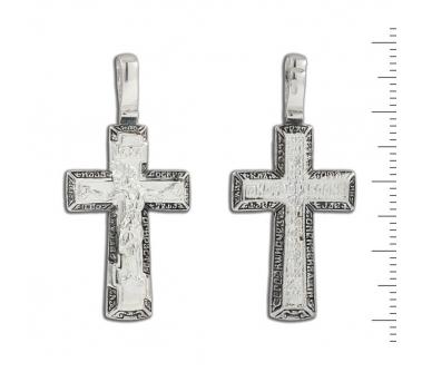 12-020 Крест (Ag 925)