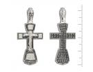 12-051 Крест (Ag 925)