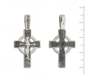 12-054 Крест (Ag 925)