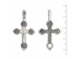 12-057 Крест (Ag 925)