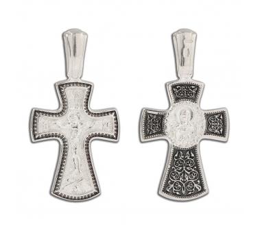 12-306 Крест (Ag 925)