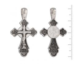 12-073 Крест (Ag 925)