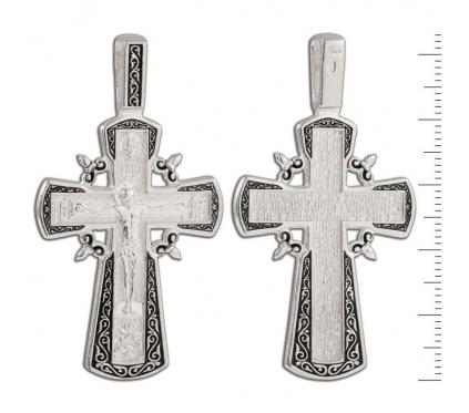 12-107 Крест (Ag 925)