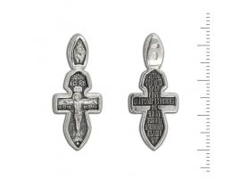 12-002 Крест (Ag 925)