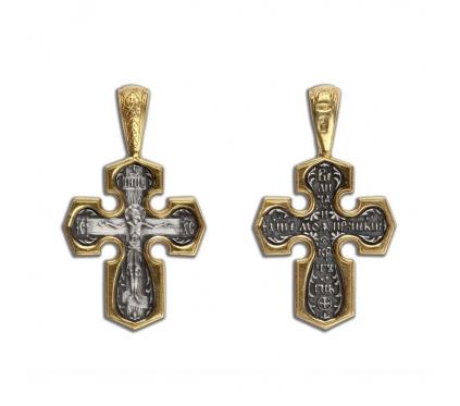 14-024 Крест (Ag 925)