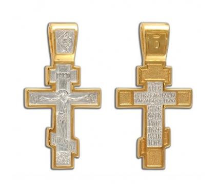 13-108 Крест (Ag 925)