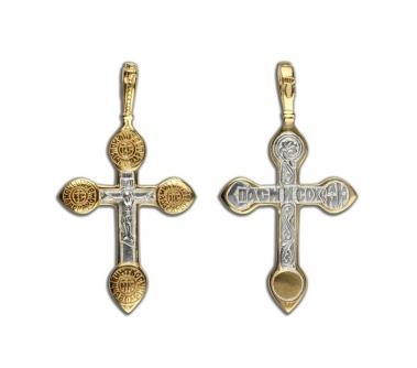 13-057 Крест (Ag 925)
