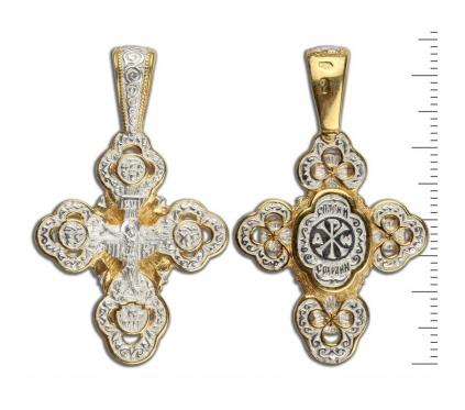 13-015 Крест (Ag 925)