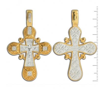13-231 Крест (Ag 925)