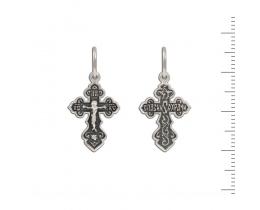 12-410 Крест (Ag 925)