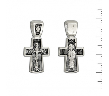 12-400 Крест (Ag925)