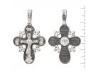 12-026 Крест (Ag 925)
