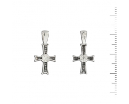 12-029 Крест (Ag 925)