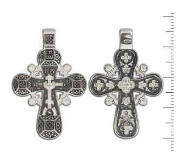 12-047 Крест (Ag 925)