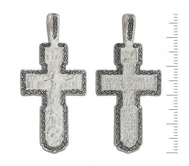 12-076 Крест (Ag 925)