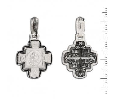 12-085 Крест (Ag 925)