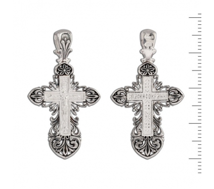12-097 Крест (Ag 925)