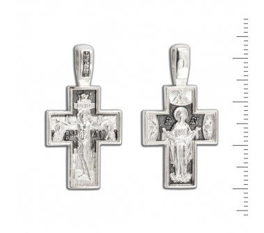 12-129 Крест (Ag 925)