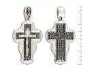 12-136 Крест (Ag 925)