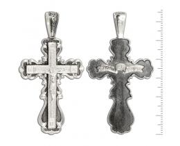 12-137 Крест (Ag 925)