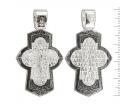 12-139 Крест (Ag 925)