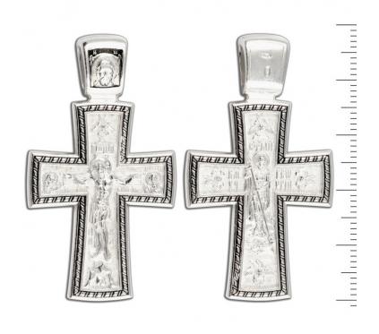 12-142 Крест (Ag 925)