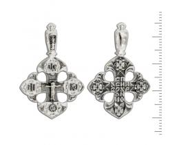 12-145 Крест (Ag 925)