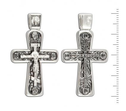 12-152 Крест (Ag 925)