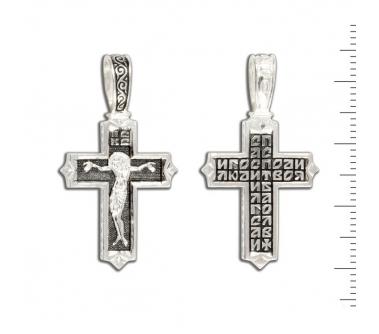 12-168 Крест (Ag 925)
