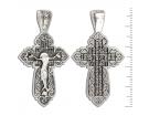 12-170 Крест (Ag 925)