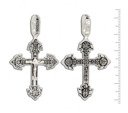 12-171 Крест (Ag 925)