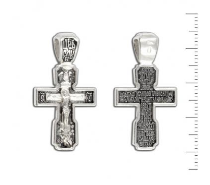 12-180 Крест (Ag 925)