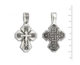 12-183 Крест (Ag 925)