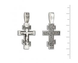 12-191 Крест (Ag 925)