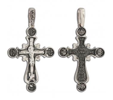 12-236 Крест (Ag 925)
