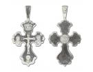 12-261 Крест (Ag 925)