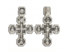 12-268 Крест (Ag 925)