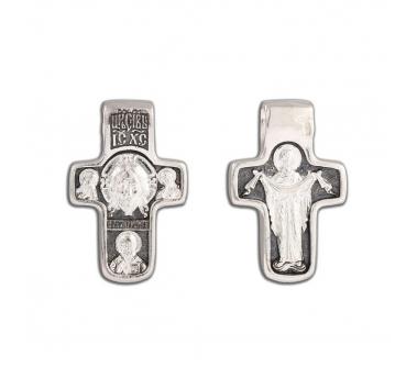 12-290 Крест (Ag 925)
