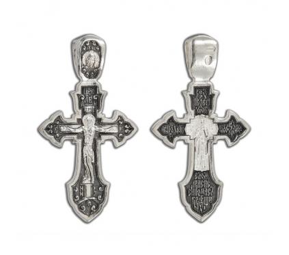 12-295 Крест (Ag 925)