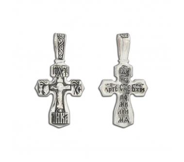 12-329 Крест (Ag 925)