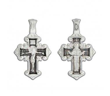 12-384 Крест (Ag 925)