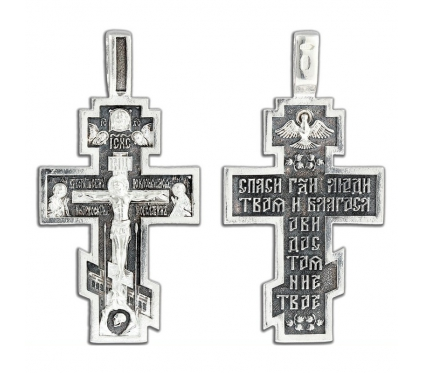 12-386 Крест (Ag 925)