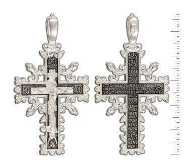 12-364 Крест (Ag 925)