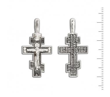 12-198 Крест (Ag 925)