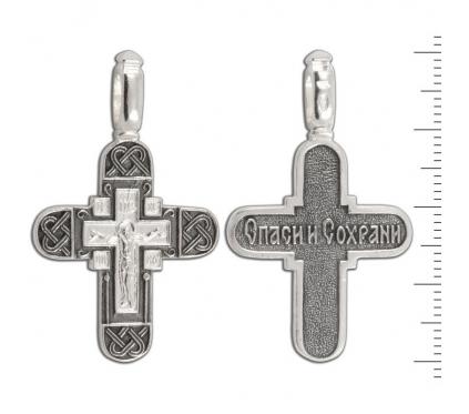 12-113 Крест (Ag 925)