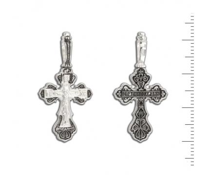 12-110 Крест (Ag 925)
